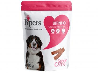 Bifinho para Cachorro Adulto Bpets Carne 400g