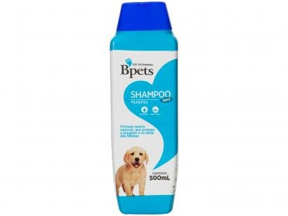 Shampoo Cachorro e Gato Filhotes Bpets 2 em 1 - 500ml