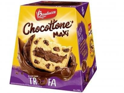 Chocotone Trufado Bauducco Maxi Trufa 500g