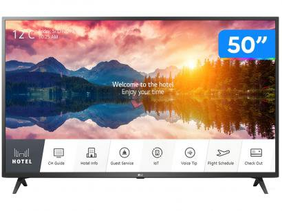 "Smart TV 4K LED IPS 50"" LG Hotel Pro: Centric - 50US660H0SD.BWZ Wi-Fi Bluetooth 3 HDMI 2 USB"