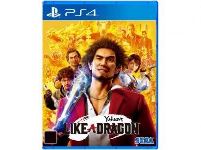 Yakuza: Like a Dragon para PS4 Sega