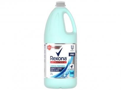 Sabonete Líquido para as Mãos Antibacteriano - Rexona Antibacterial Limpeza Profunda 2L