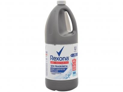 Sabonete Líquido para as Mãos Antibacteriano - Rexona Antibacterial Sem Fragrância 2L