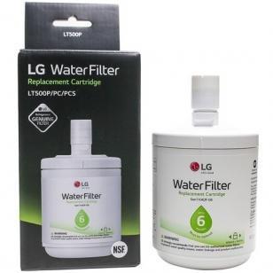 Filtro de Água Interno para Geladeira LG - ADQ72910911