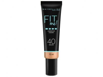 Corretivo Facial Líquido Maybelline Fit Me! - 40 Escuro 10ml