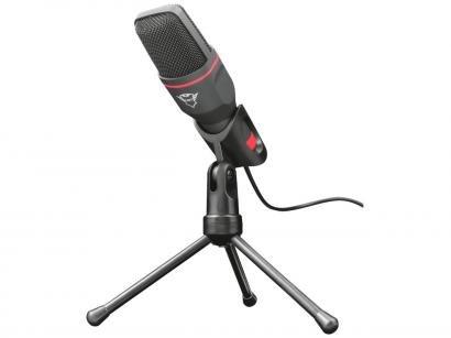 Microfone Gamer de Mesa Trust GXT 212 Mico - com Tripé