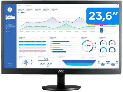 "Monitor para PC AOC M2470SWH2 23,6"" LED - Widescreen Full HD HDMI VGA"