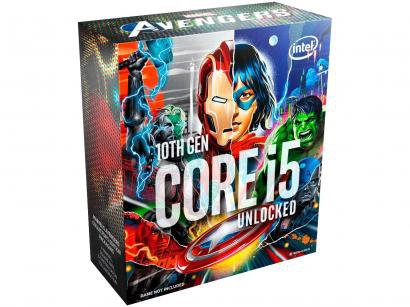 Processador Intel Core i5 10600K Avengers Edition - 4.10GHz 4.80GHz Turbo 12MB