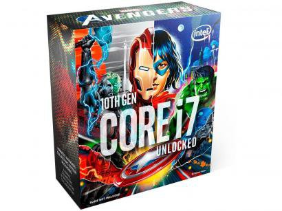 Processador Intel Core i7 10700K Avengers Edition - 3.80GHz 5.10GHz Turbo 16MB