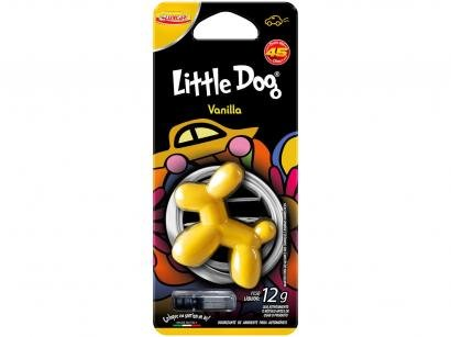 Odorizador Automotivo Plástico Injetado Luxcar - Little Dog Vanilla