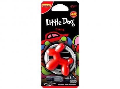 Odorizador Automotivo Plástico Injetado Luxcar - Little Dog Cherry