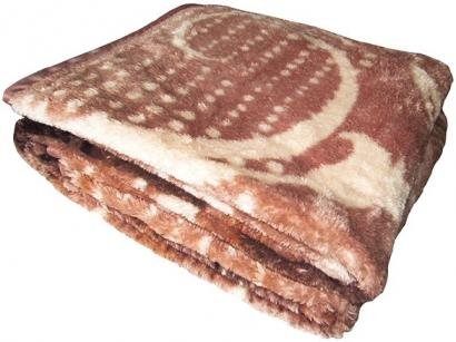 Cobertor Casal Jolitex Microfibra 100% Poliéster - Dyuri Nilo Bege