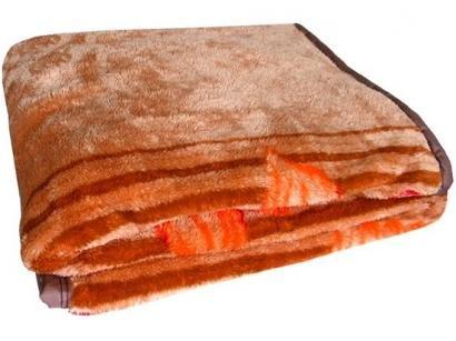 Cobertor Casal Jolitex Microfibra 100% Poliéster - Dyuri Volga Marrom