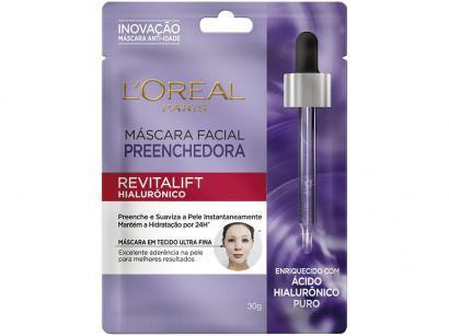 Máscara Facial Loreal Paris - Revitalift Hialurônico 30g