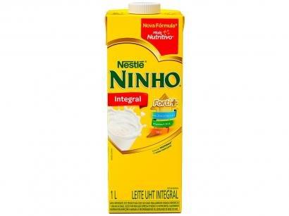 Leite Integral UHT Ninho 1L