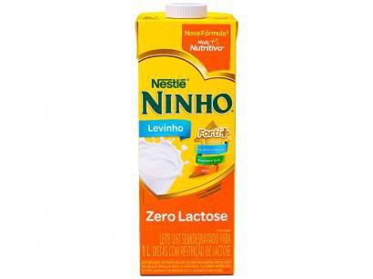 Leite Semidesnatado Zero Lactose UHT Ninho - Levinho 1L