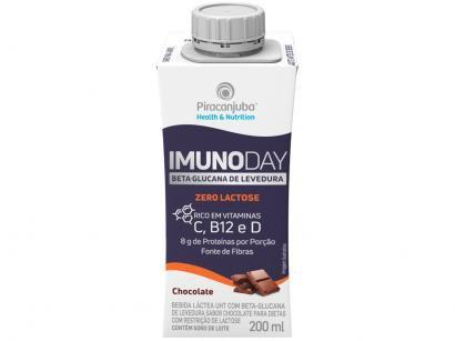 Bebida Láctea Piracanjuba Imunoday Zero Lactose - Original 200ml