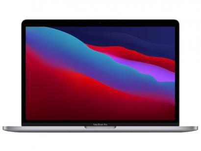 """Macbook Pro 13,3"""" Apple M1 8GB - 256GB SSD Cinza-espacial"""