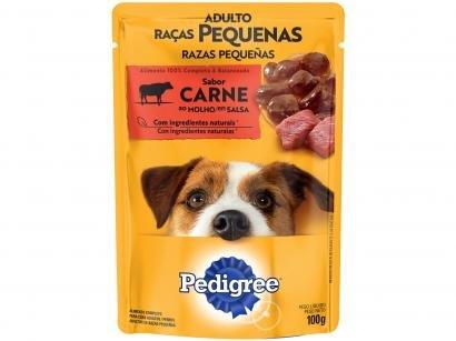 Ração Úmida para Cachorro Adulto Sachê - Pedigree Carne ao Molho 100g