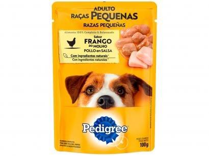 Ração Úmida para Cachorro Adulto Sachê - Pedigree Frango ao Molho 100g