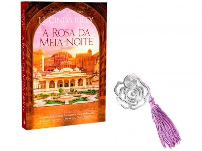 Livro A Rosa da Meia-Noite Lucinda Riley - com Marcador de Página Pré-Venda