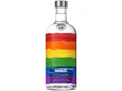 Vodka Absolut Rainbow 750ml