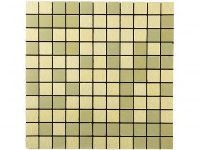 Pastilha Adesiva Mia Mosaic N1904019 30x30cm - Dourado
