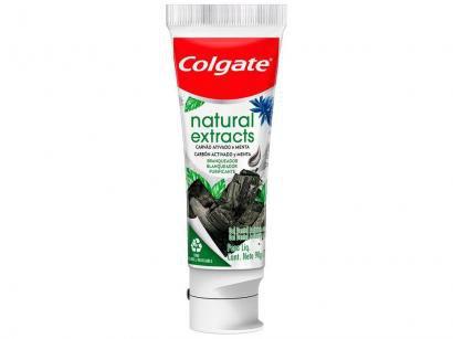 Creme Dental Clareador Colgate Natural Extracts - Carvão Ativado e Menta 90g