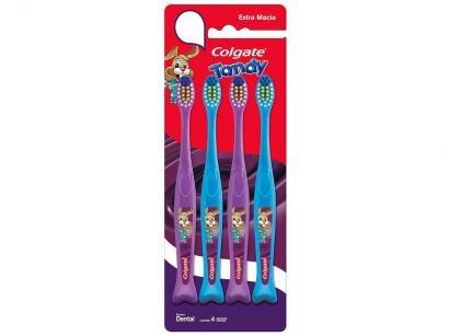 Escova de Dente Infantil Elmex Tandy - 4 Unidades