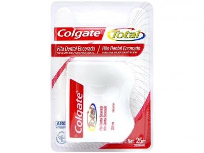 Fita Dental Encerada Colgate Total 25m Neutro
