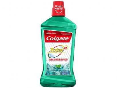Enxaguante Bucal Colgate sem Álcool - Total 12 Professional Hálito Saudável 1L