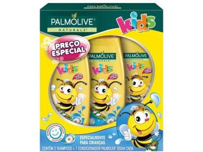 Kit Shampoo e Condicionador Infantil Palmolive - Naturals Kids Abelhinha 350ml