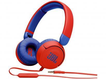 Headphone Infantil JBL JR310 Vermelho