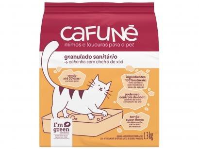 Areia para Gato Cafuné Granulado Sanitário 1,3kg