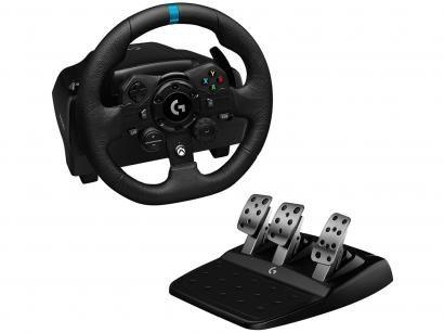 Volante Gamer para Xbox One Xbox Series S/X PC - Logitech G TRUEFORCE G923 com Pedal