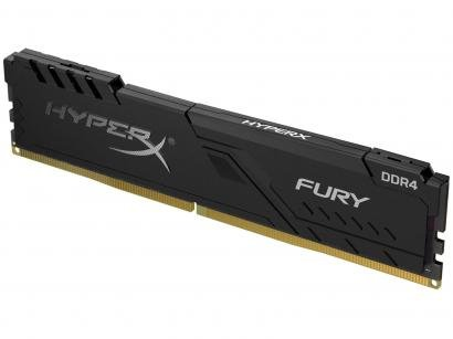 Memória RAM 8GB DDR4 HyperX Fury 2400Mhz - com Dissipador
