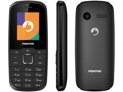 Celular Positivo P26 Dual Chip 32MB 2G Rádio FM - Bluetooth Desbloqueado