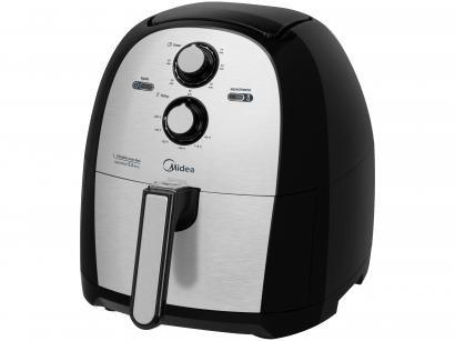 Fritadeira Elétrica sem Óleo/Air Fryer Mídea - FRA50S1 Preto 5,5L com Timer