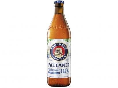 Cerveja Paulaner Weissbier 0,0% Ale sem Álcool - 500ml