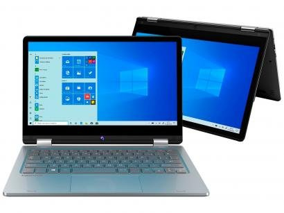 Notebook 2 em 1 Positivo Duo C4128A-1 - Intel Celeron 4GB 128GB eMMC Touch Screen 11,6""
