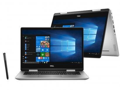 "Notebook 2 em 1 Dell Inspiron 14 5000 210-AVDJ - Intel Core i7 8GB 256GB SSD Touch Screen 14"""