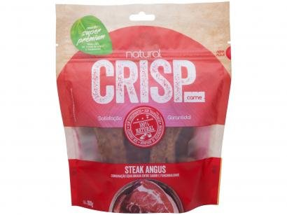 Petisco para Cachorro Adulto Natural Crisp - Steak Angus 100g