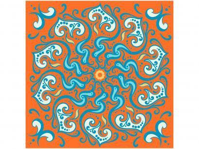 Adesivo de Azulejo Abstrato PVC Adesif N1905773 - 15x15cm 8 Unidades