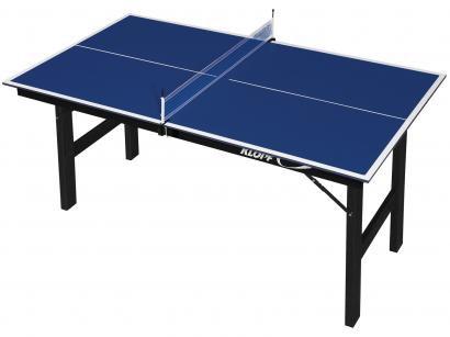 Mini Mesa de Ping Pong Dobrável 12mm Klopf - 1003 com Suporte e Rede