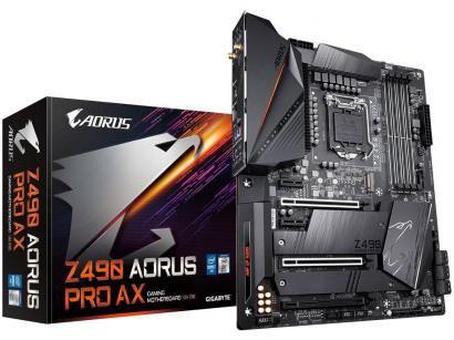 Placa Mãe Gigabyte Z490 Aorus Pro AX 1.1 - Intel LGA 1200 DDR4 ATX