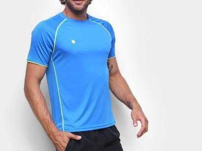 Camiseta Fitness e Musculação Olympikus - Colors Masculina Azul Royal