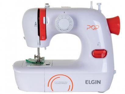 Máquina de Costura Elgin POP BL-1009 Portátil - Eletrônica 9 Pontos