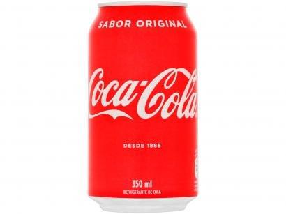 Refrigerante Lata Coca-Cola Original 350ml