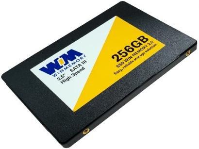"SSD 256GB WIN MEMORY SATA 2,5"" Leitura 560MB/s - Gravação 540MB/s SWR256G"
