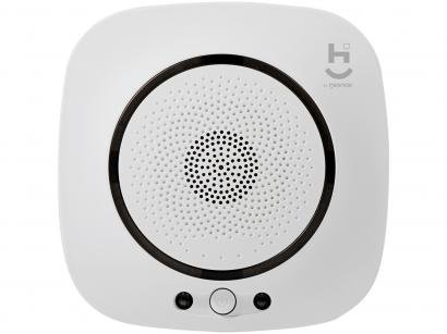 Sensor de Gás Inteligente Geonav - Hi Home Inteligence HISSCO Wi-Fi Branco